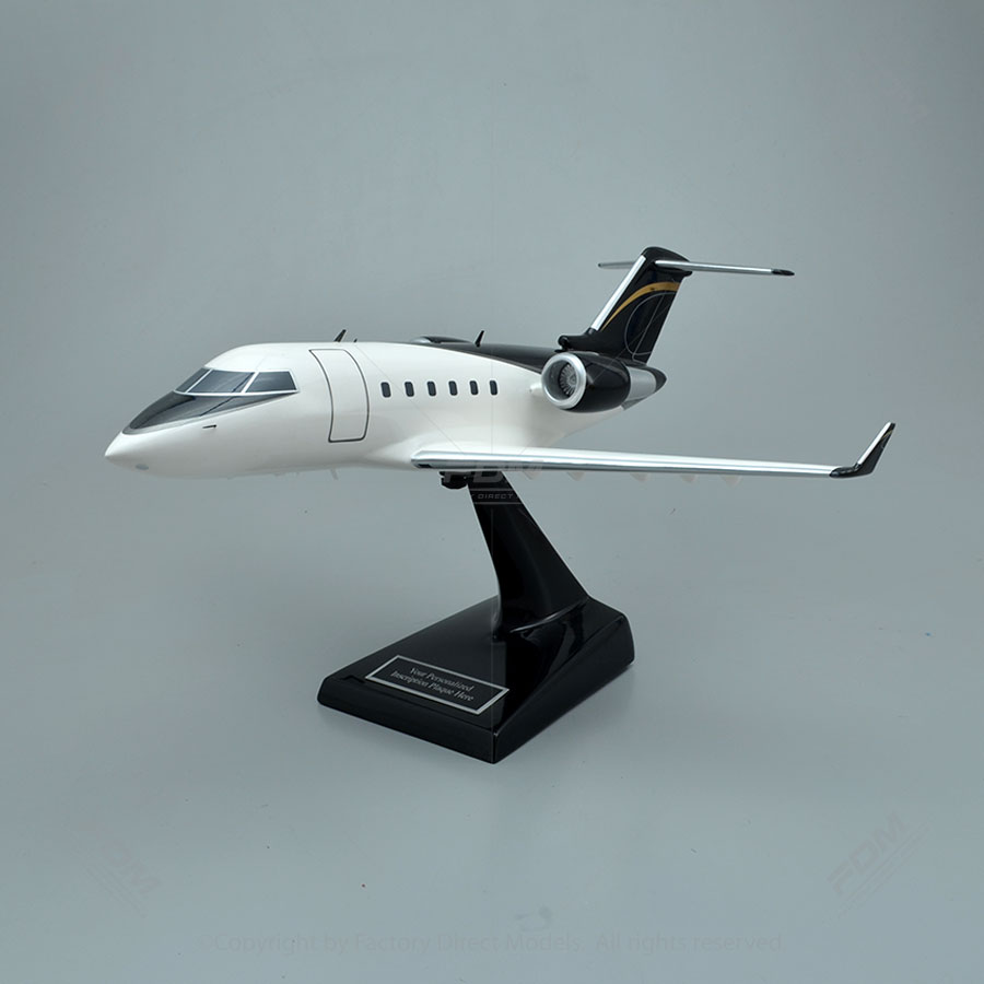 Bombardier Challenger 601ER Model Airplane