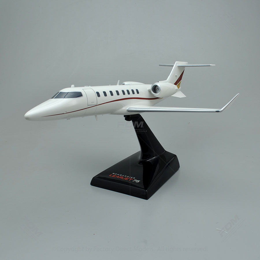 Bombardier Learjet 75 Model Airplane
