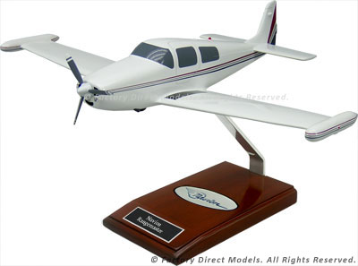 North American Navion Rangemaster Airplane Model