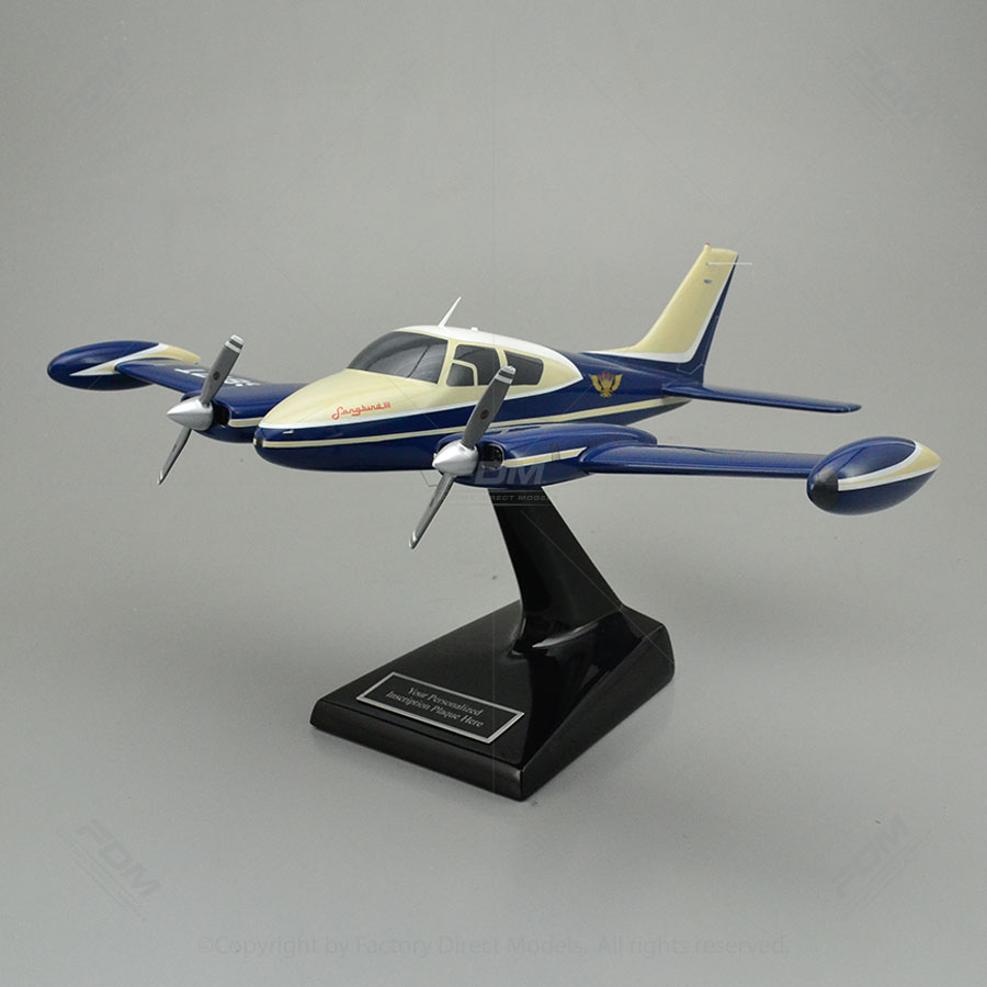 Cessna 310D Sky King Songbird III Model Airplane