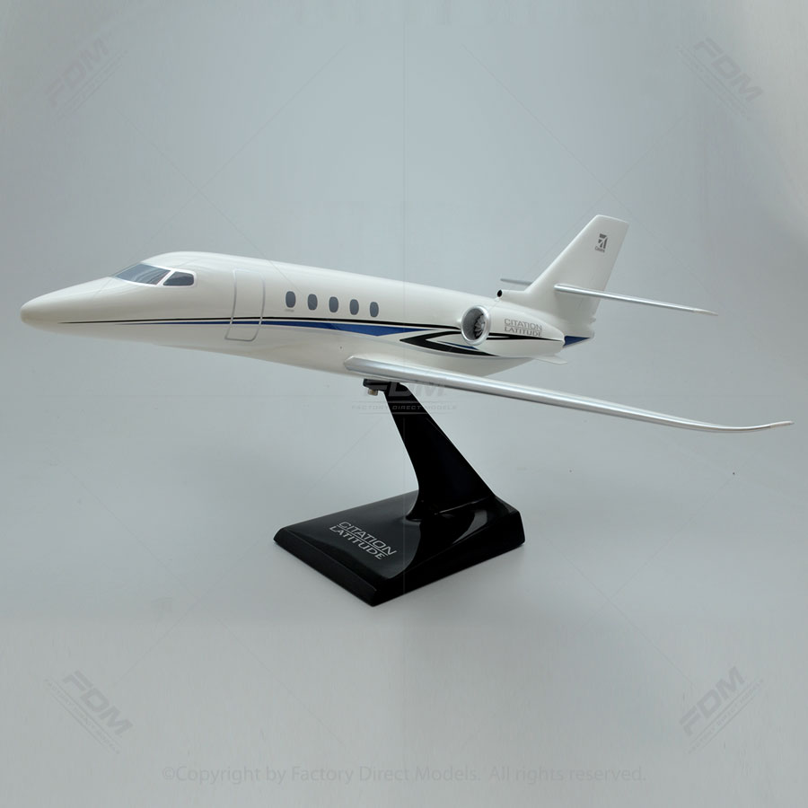 Cessna 680 Citation Latitude Resin Model