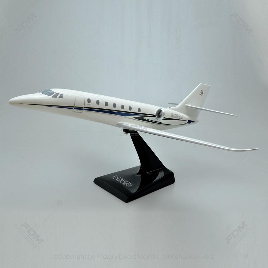 Cessna 680 Citation Sovereign+ Resin Model