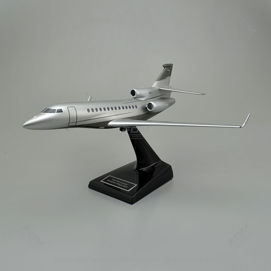 Dassault Falcon 7X Model Airplane