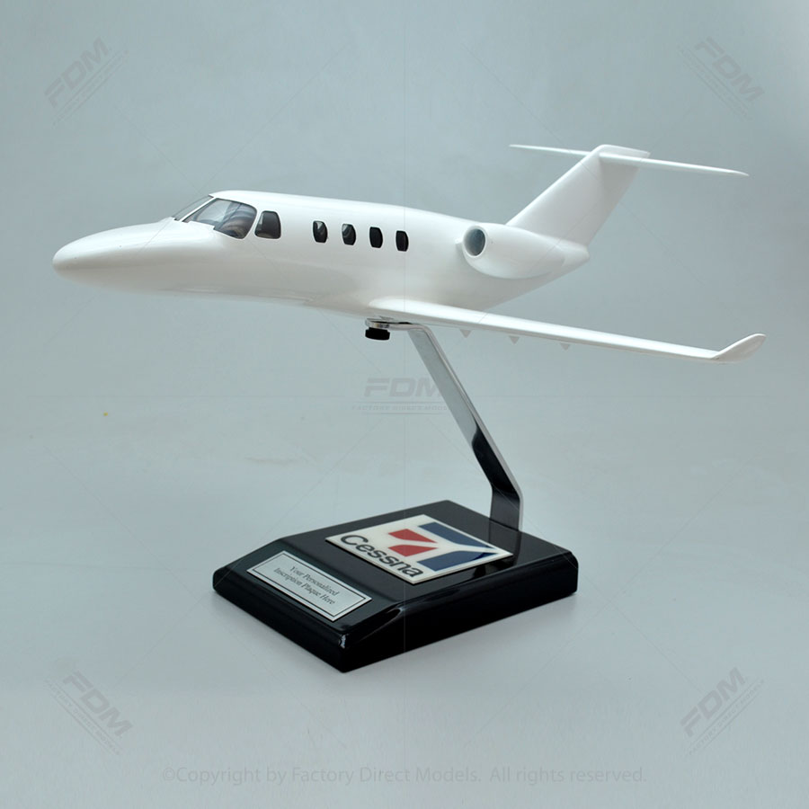 Your Custom Painted Cessna 525 Citation M2 Model with Detailed Interior
