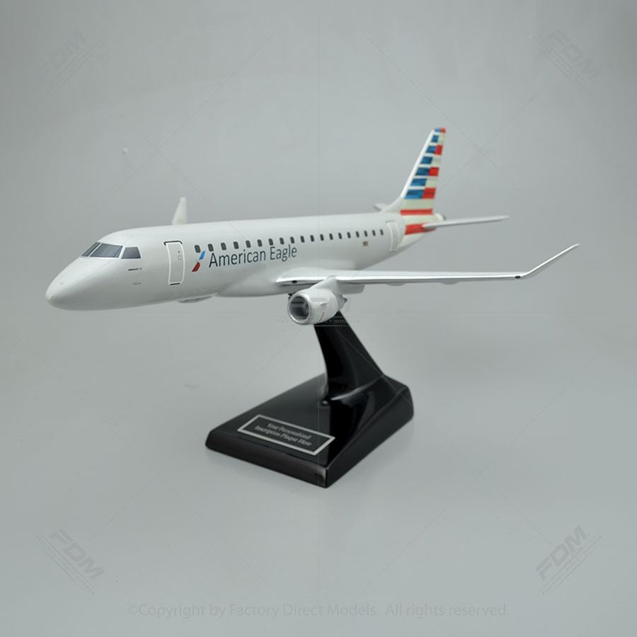 Embraer E175 American Eagle Model Airplane