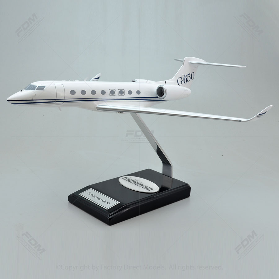 Gulfstream G650 Model Airplane