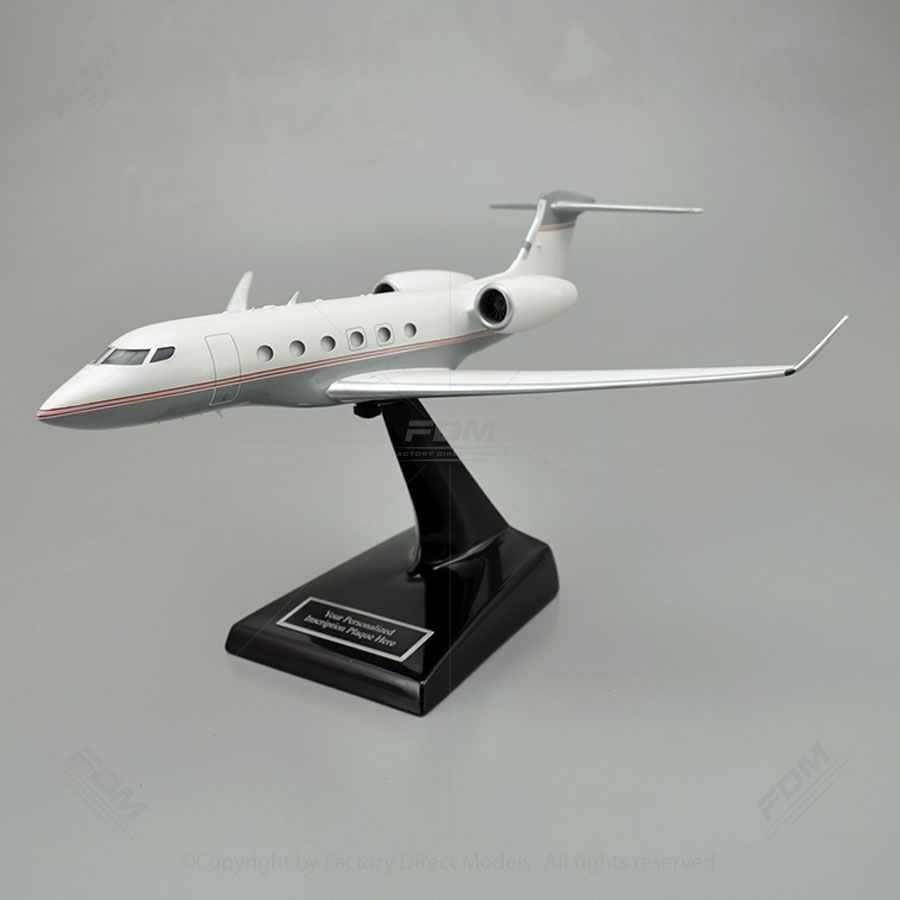 Gulfstream G500 3D Printed Model Airplane with Detailed Interior