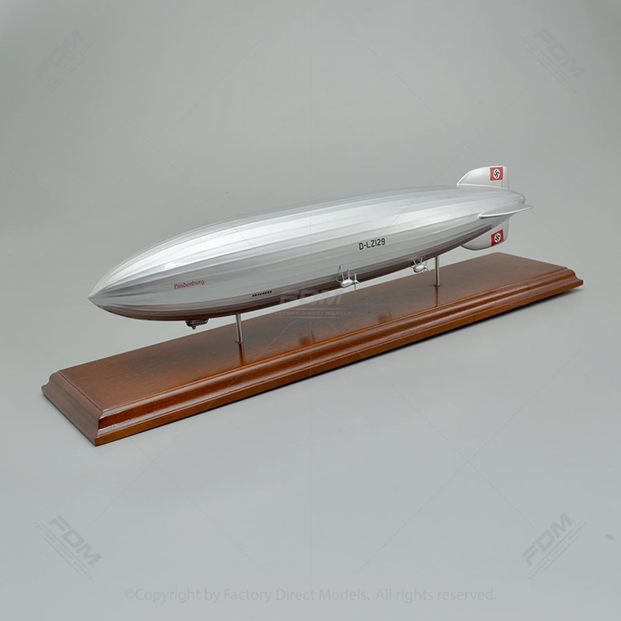 Hindenburg German Derigible Model