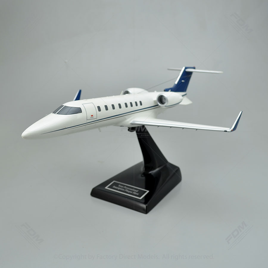 Bombardier Learjet 45 Model Airplane