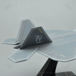 Lockheed Martin F-22A Raptor Model Airplane