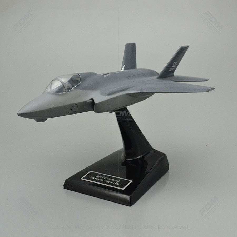 Lockheed Martin F-35A Lightning II Model Airplane with Detailed Interior