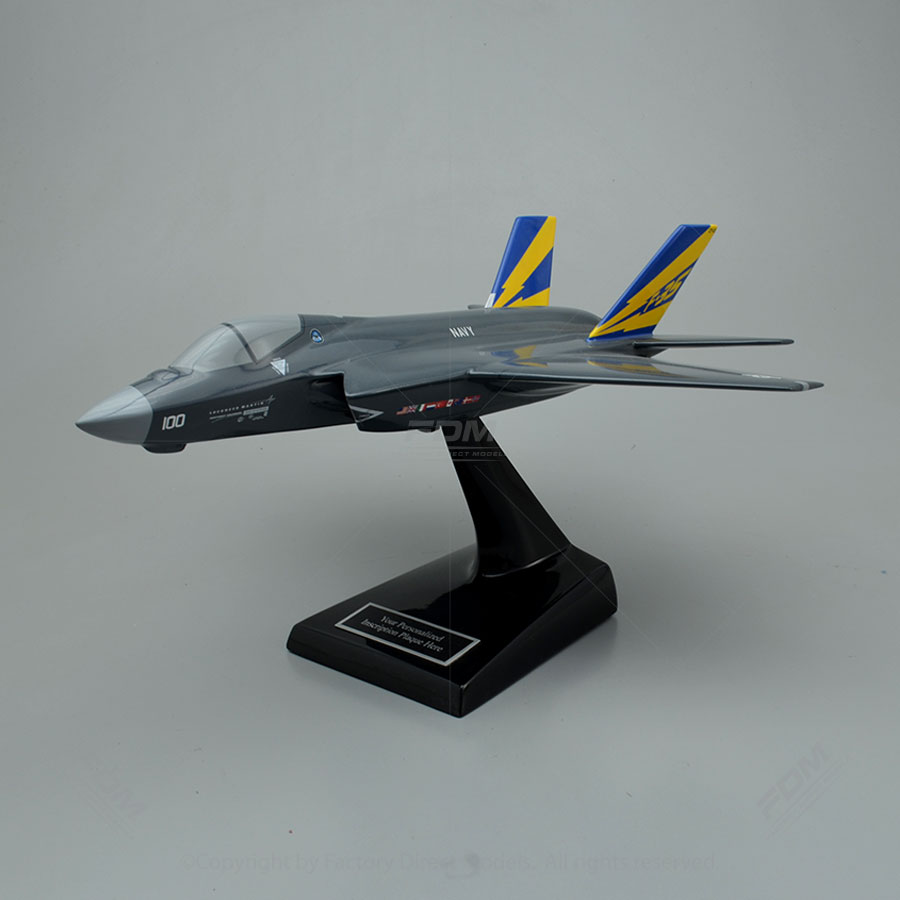 Lockheed Martin F-35C Lightning II US Navy Model Airplane
