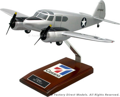 Cessna UC-78 T-17 T-50 Scale Model