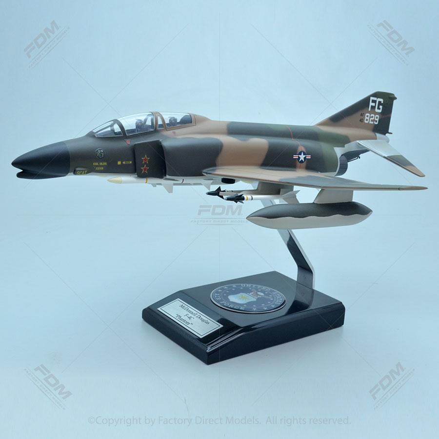 McDonnell Douglas F-4C Robin Olds Phantom II Model with Detailed Interior