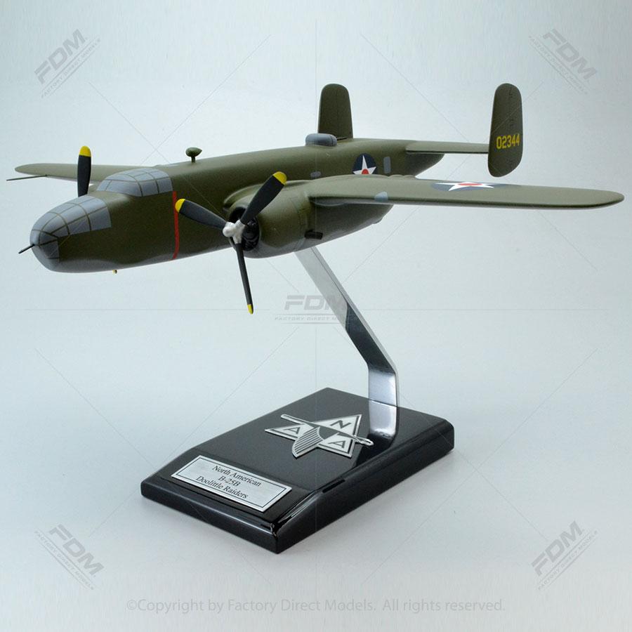 North American B-25B Mitchell Doolittle Raiders Model