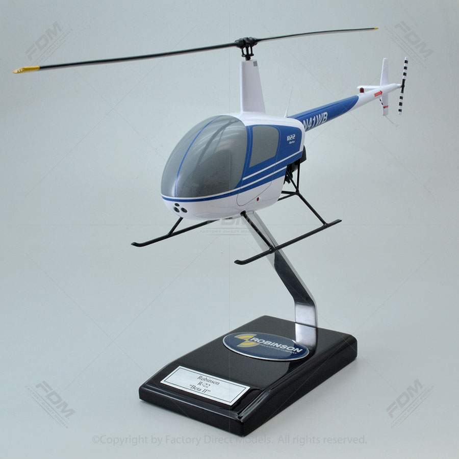 Robinson R22 Model Helicopter