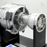 Roll Royce Trent 1000 Engine Model