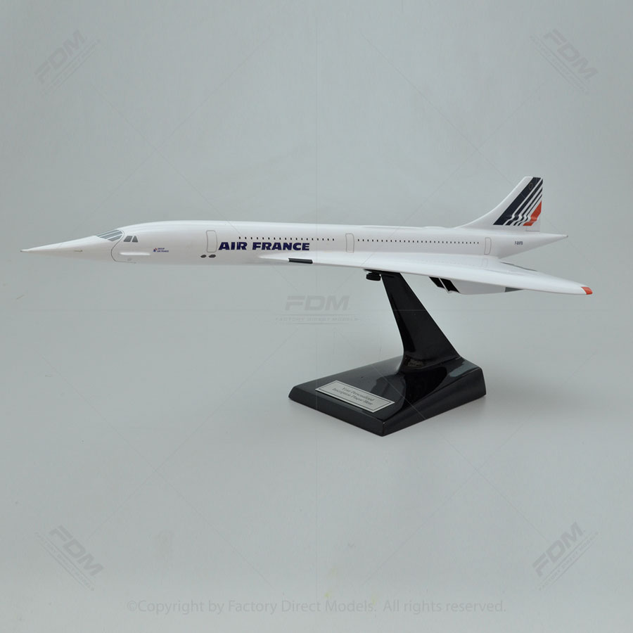 Aerospatiale-BAC Concorde SST Air France Scale Model Airplane