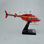 Bell 206L4 Scale Model Helicopter