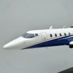 Bombardier Learjet 60XR Model Airplane