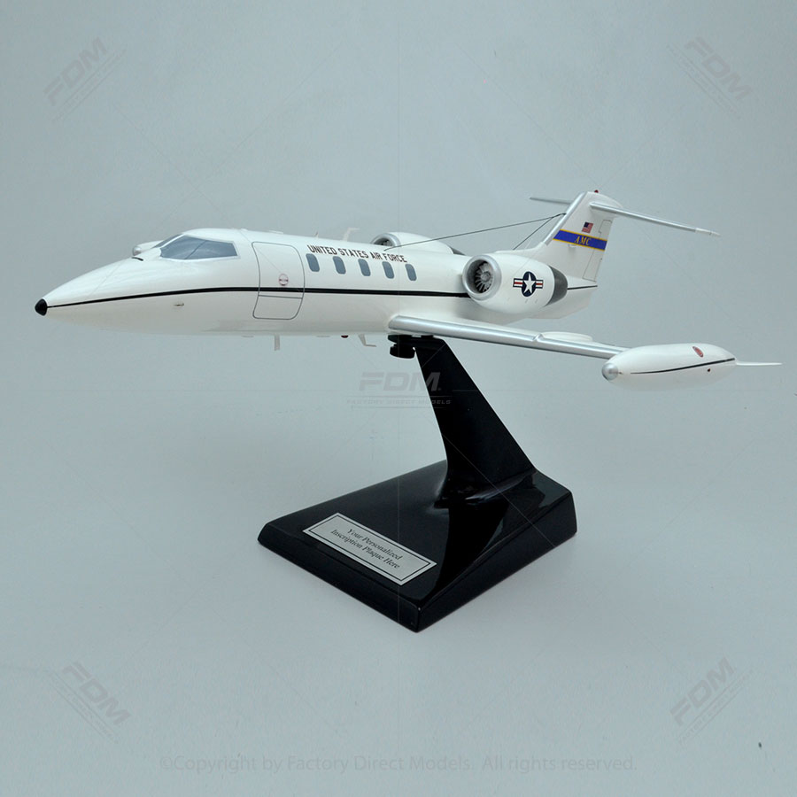 Bombardier Lear C-21A AMC Scale Model Aircraft