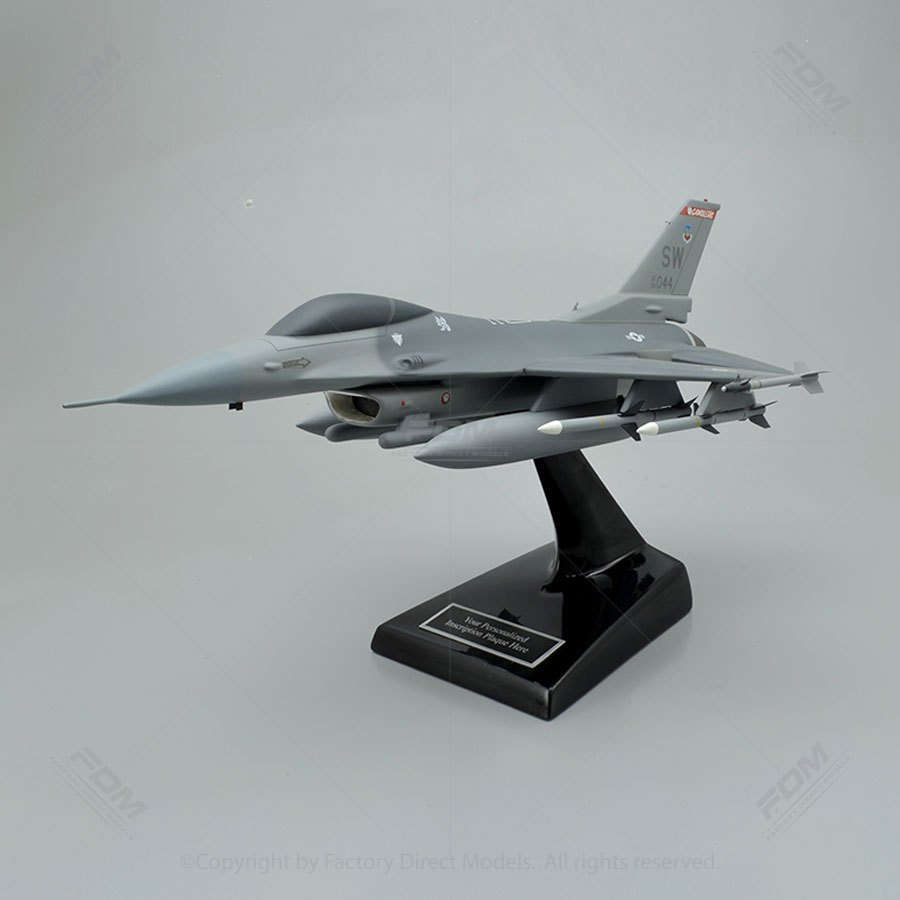 Lockheed Martin F-16C Fighting Falcon Shaw Air Force Base Model Airplane