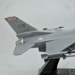 Lockheed Martin F-16C Fighting Falcon Shaw Air Force Base Model Airplane