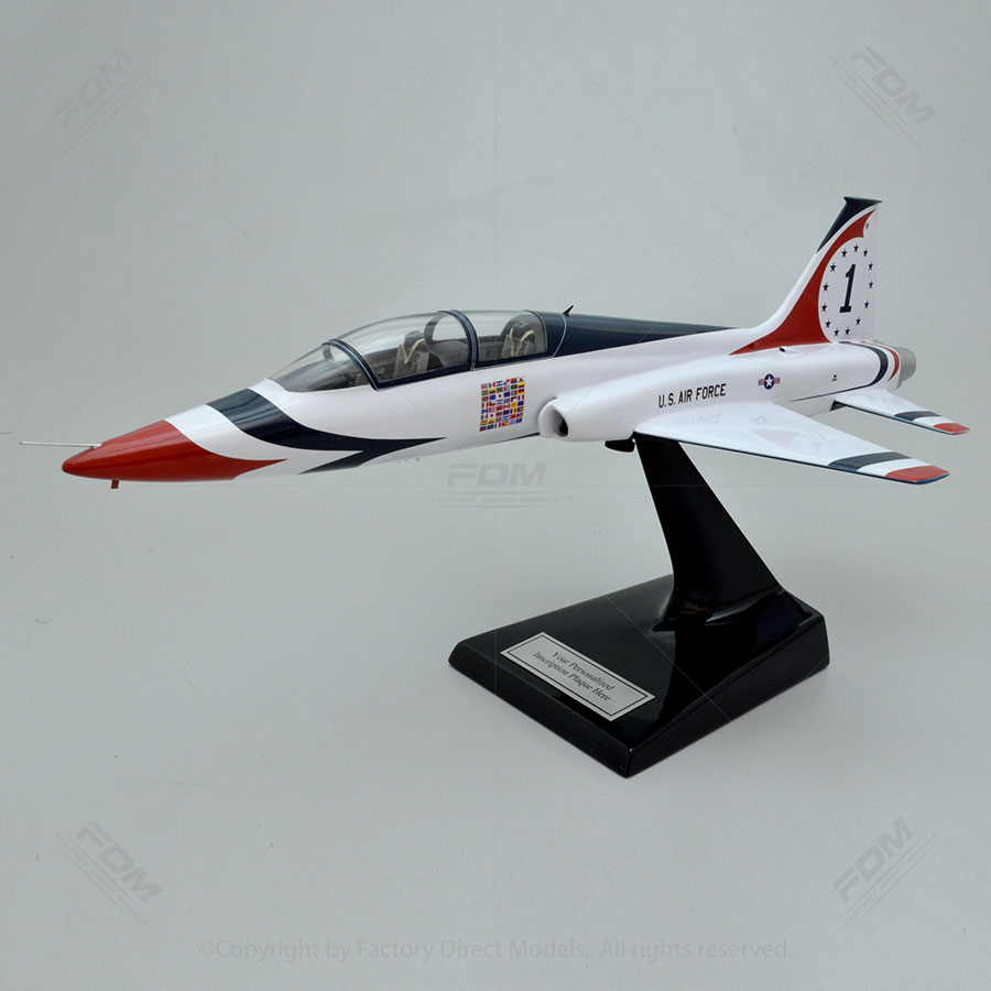 Northrop T-38A Thunderbird Model Airplane with Detailed Interior