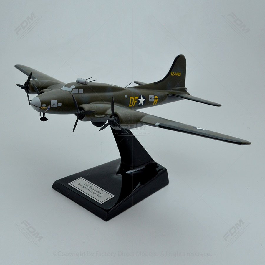Boeing B-17F Memphis Belle Scale Model Aircraft