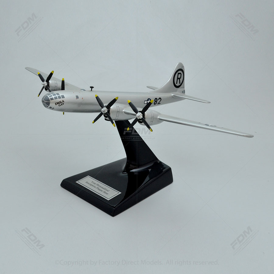 Boeing B-29 Enola Gay Airplane Model