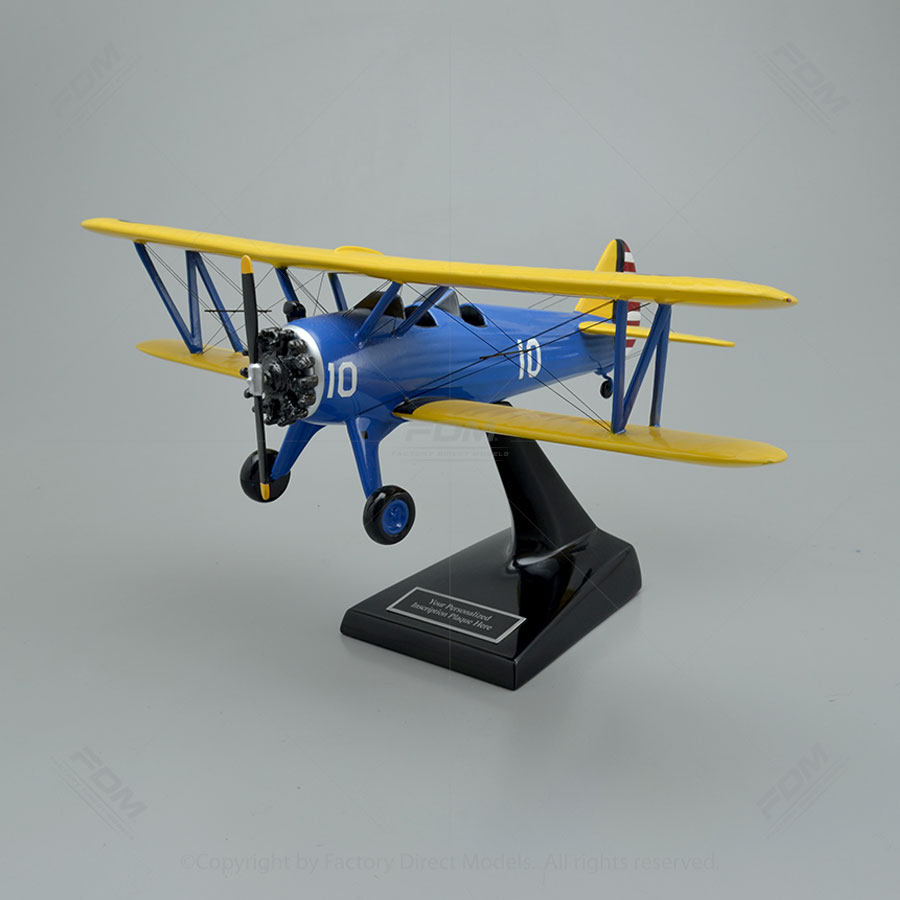 Boeing-Stearman PT-17 Kaydet Model Airplane