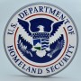 """US Department of Homeland Security 14"""" Wall Plaque"""