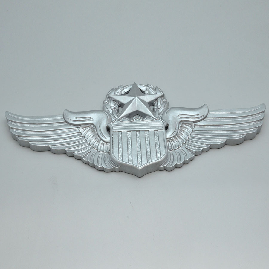 United States Air Force Pilots Wings Wooden Wall Plaque