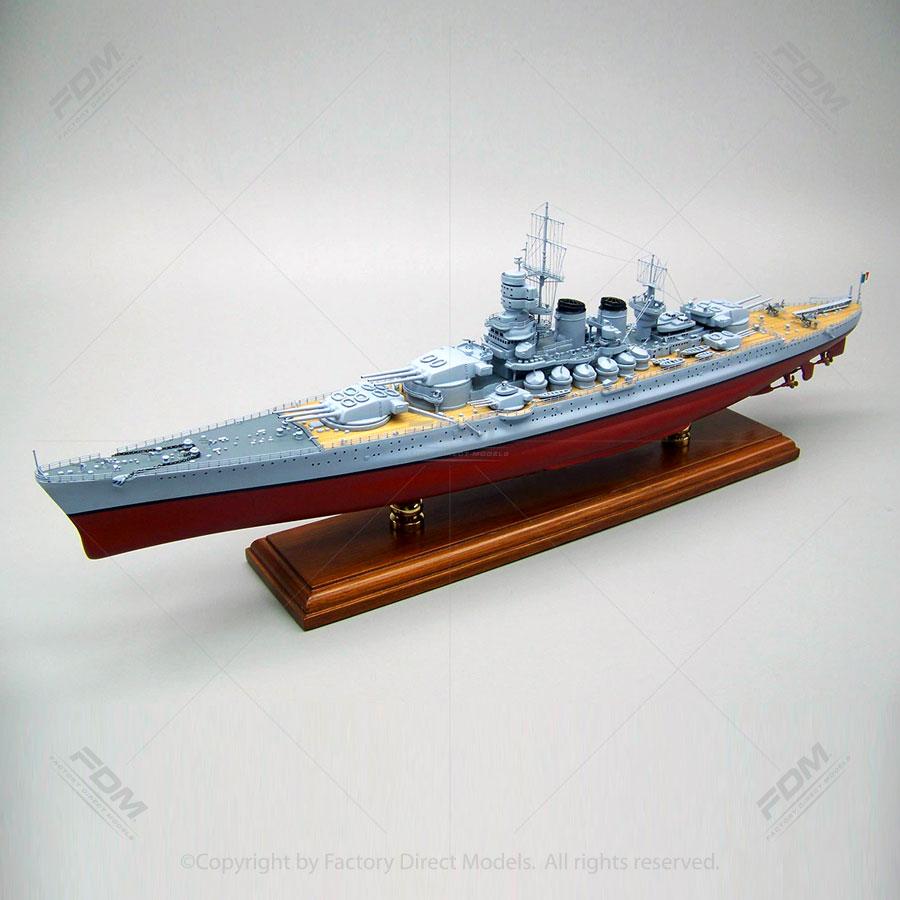 Vittorio Veneto Model Ship