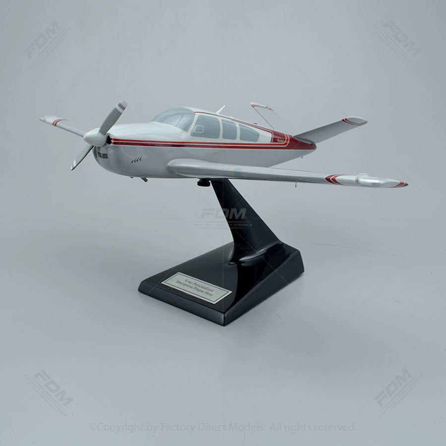 Beechcraft J35 Bonanza Scale Model Airplane