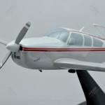 Beechcraft J35 Bonanza Scale Model Airplane