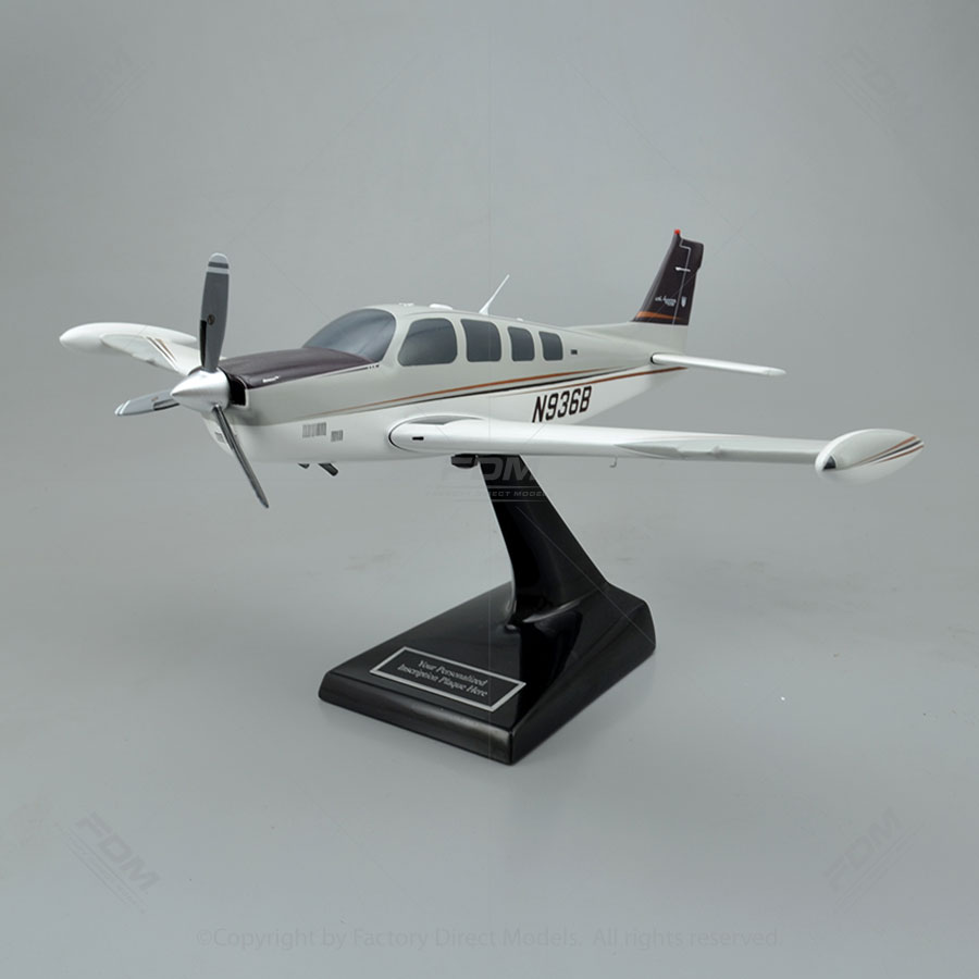 Beechcraft G36 Bonanza 60th Anniversary Model Airplane