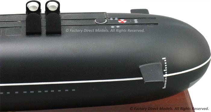Submarine Russian Typhoon Class Custom Model Factory