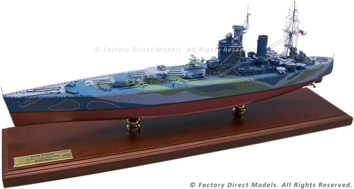 Hms Rodney 1932 43 Scale Model