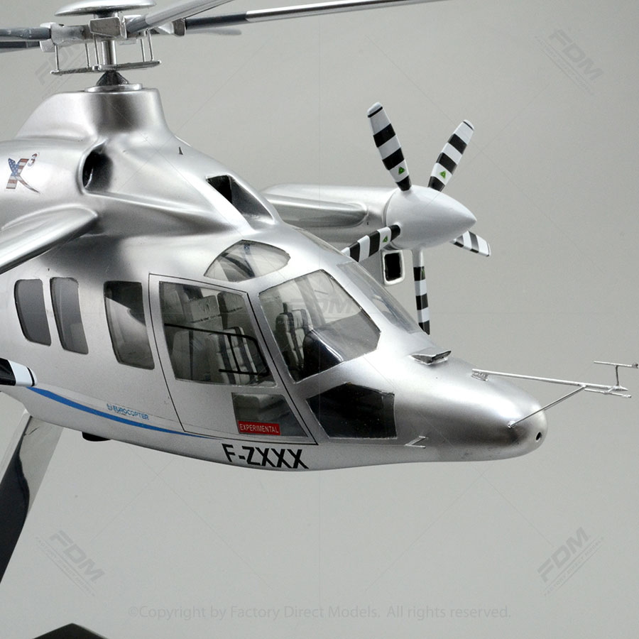 eurocopter x3 model with detailed interior