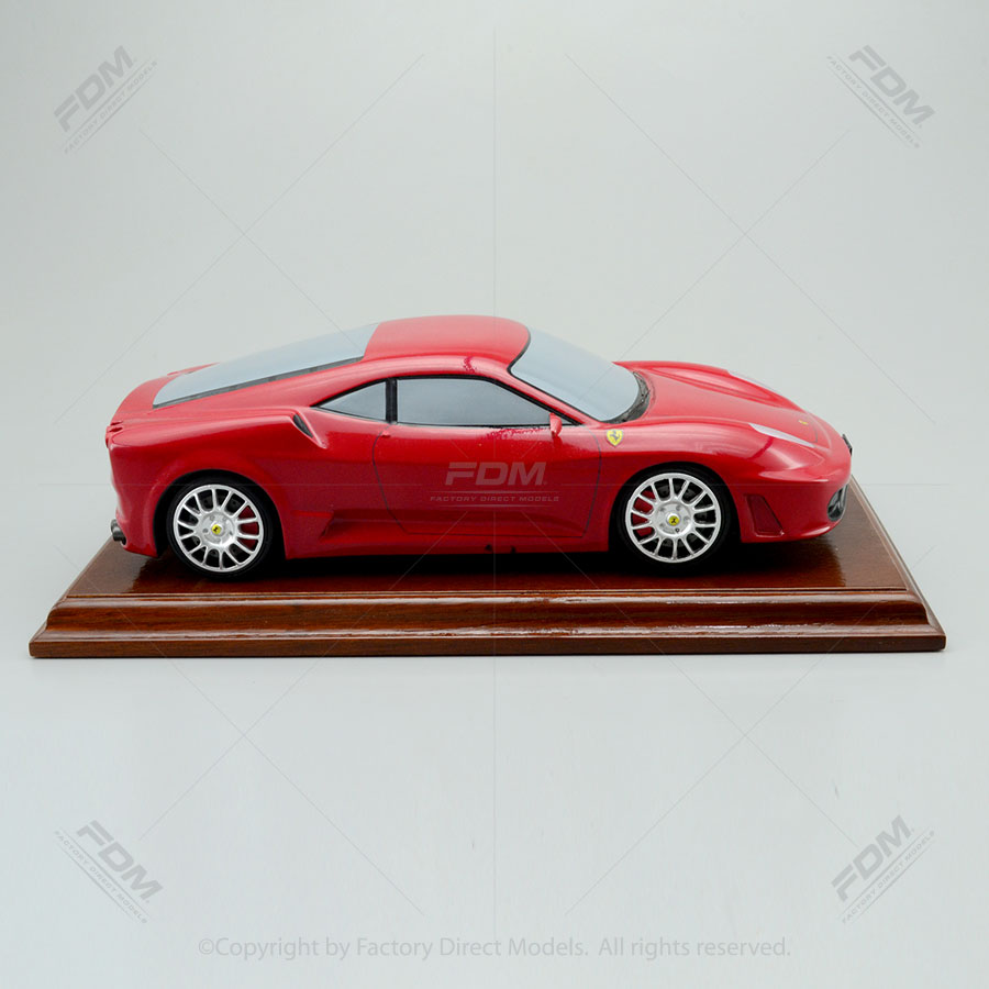 2008 Ferrari F430 Challenge Stradale Review: Ferrari F430 2008 Scale Model