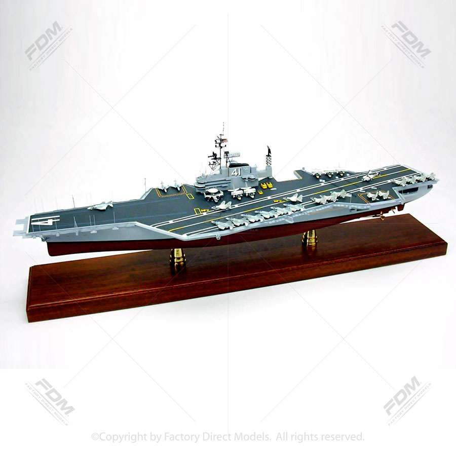 uss midway  cv 41  1985 model aircraft carrier