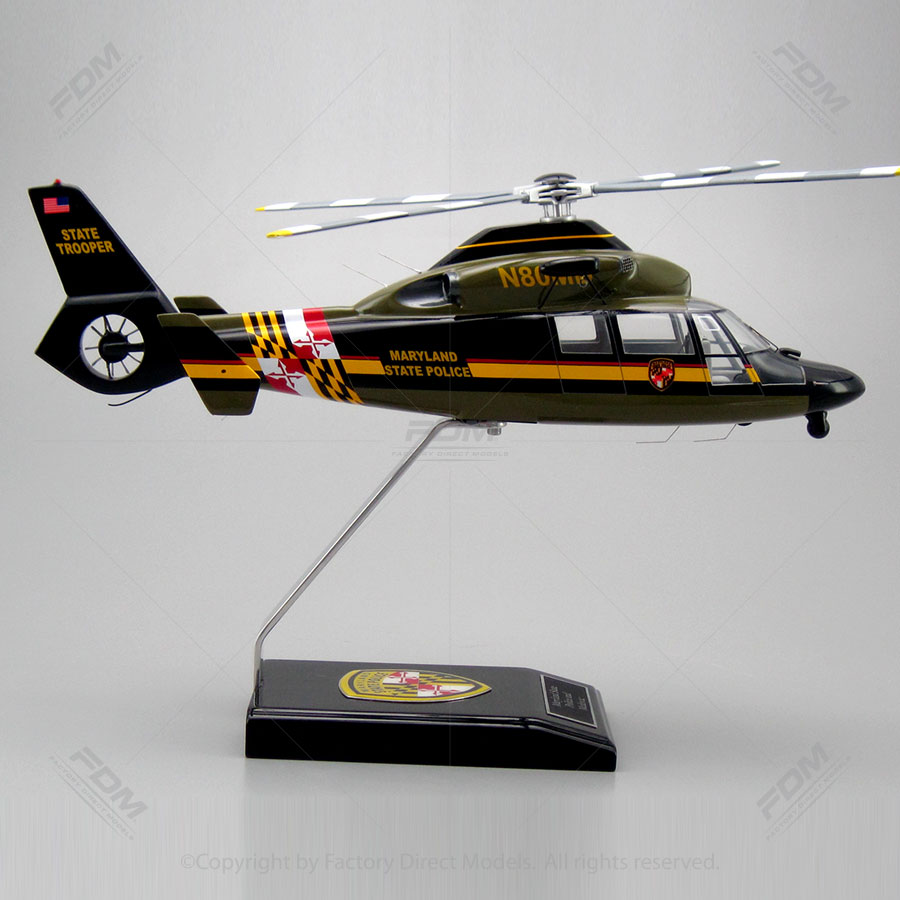 eurocopter as365 custom scale model helicopter