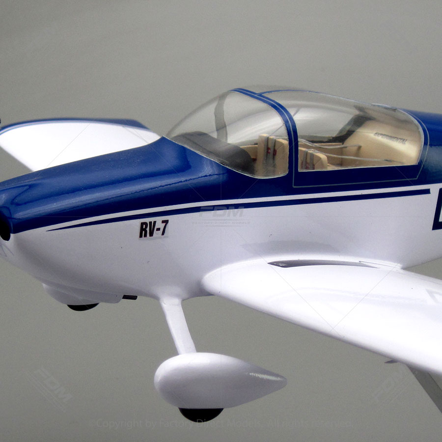 Vans Aircraft Rv7 Scale Model Airplane Factory Direct Models
