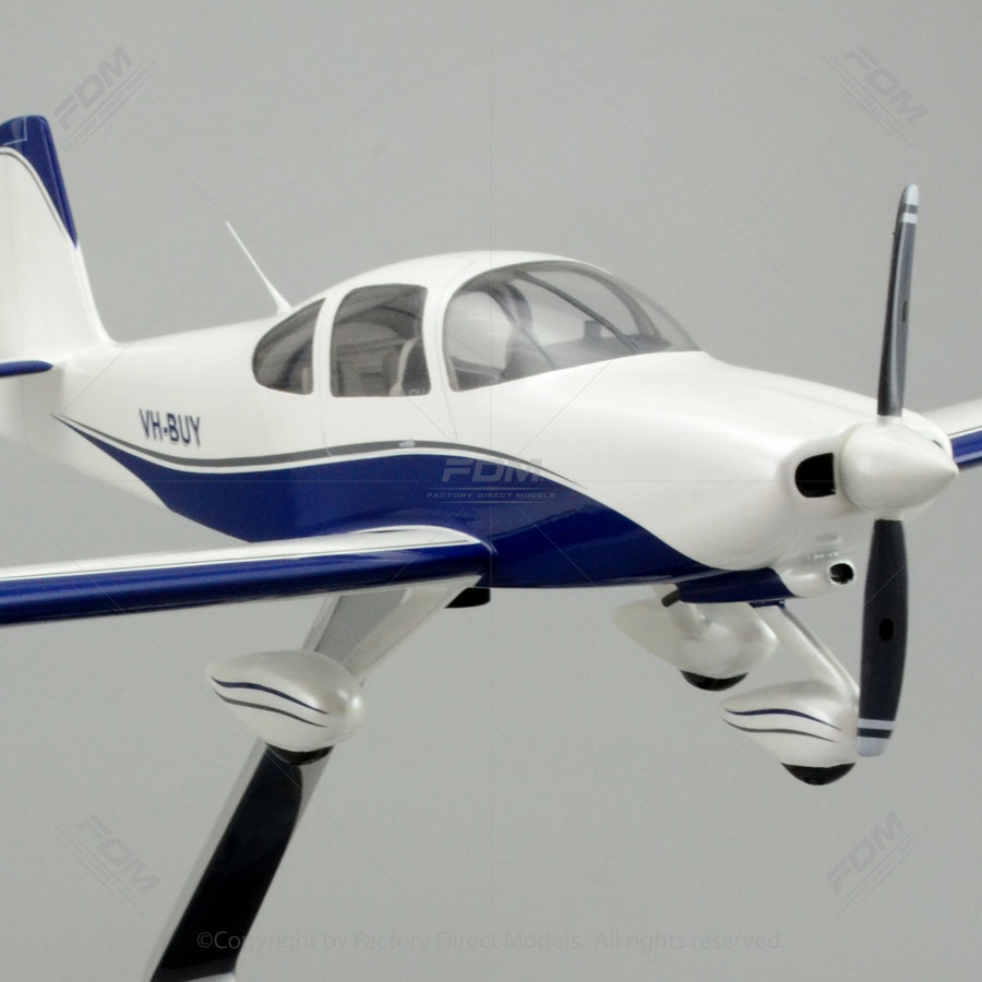 Van S Aircraft Rv 10 Model With Detailed Interior