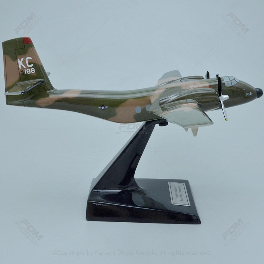 De Havilland C7a Caribou Model Factory Direct Models