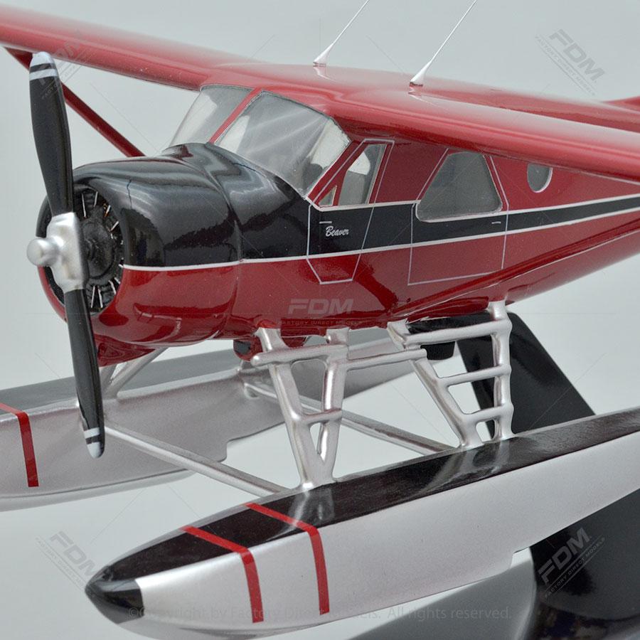 DHC-2 Beaver Custom Wooden Model Aircraft