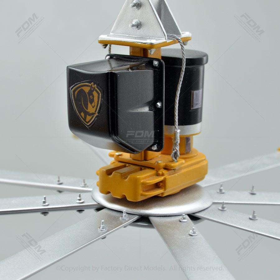 Ceiling Fan Manufacturers: Powerfoil X3.0 HVLS Custom Model