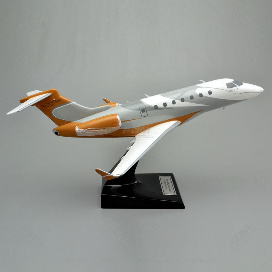 Embraer Emb 550 Legacy 500 Model Factory Direct Models