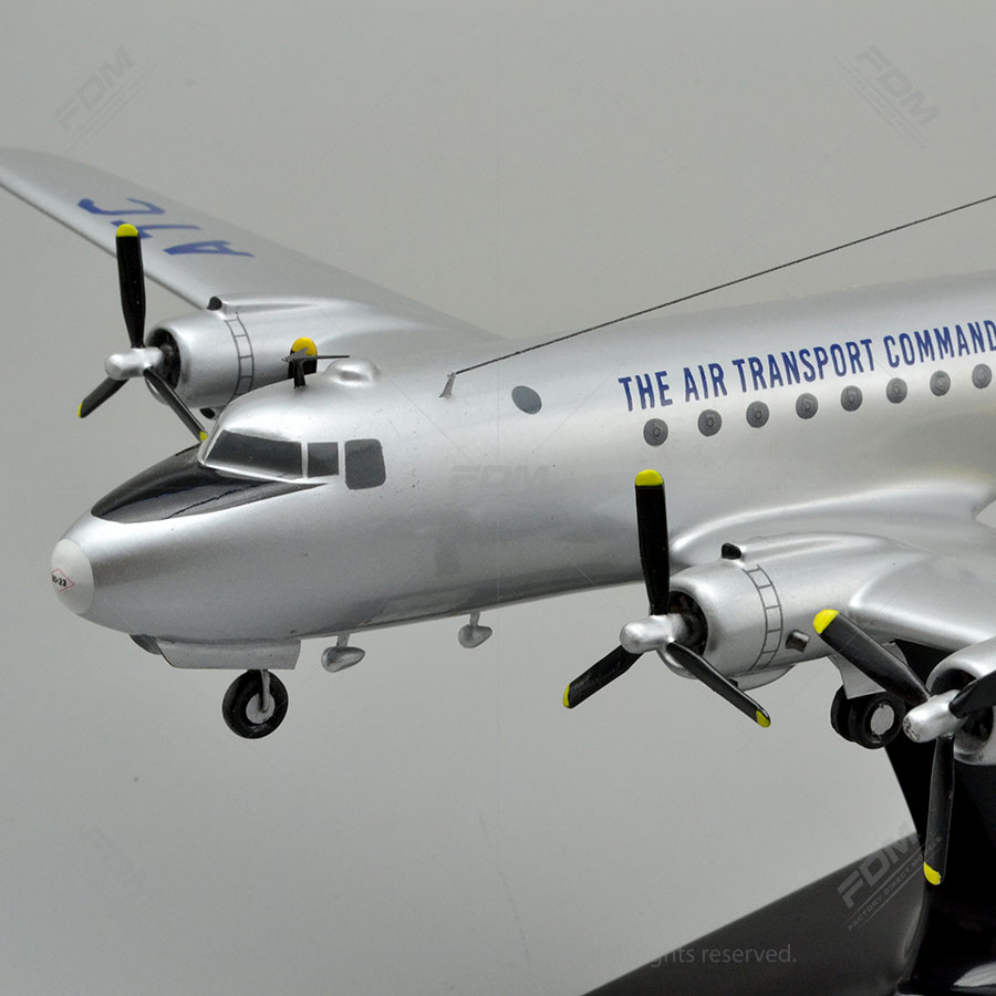 Douglas C-54 Skymaster Custom Model Airplanes | Factory Direct Models